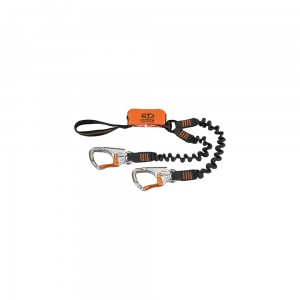 Lonża Climbing Technology Top Shell Spring black/orange