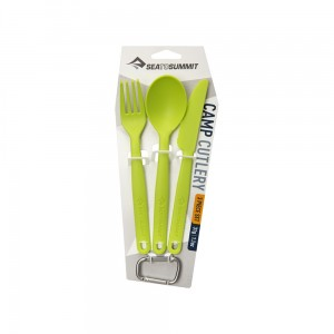 Sztućće Sea To Summit Camp Cutlery Set Lime